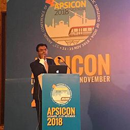 Blepharoplasty surgery at National Conference of Indian Plastic surgeons - Dr Rajat Gupta