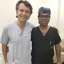 Dr Mario Goisis at Skinnovation Clinic Delhi - Dr Rajat Gupta