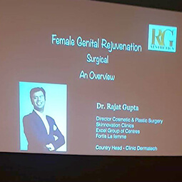 Invited Faculty Talk on Female Genital Cosmetic Surgeries 2018 - Dr Rajat Gupta